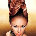 Haute couture Hairstyle