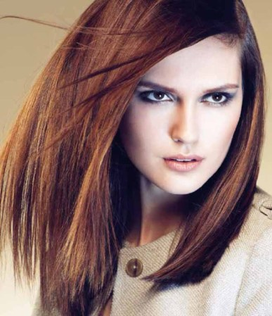 Chestnut and Blonde balayage hair colors