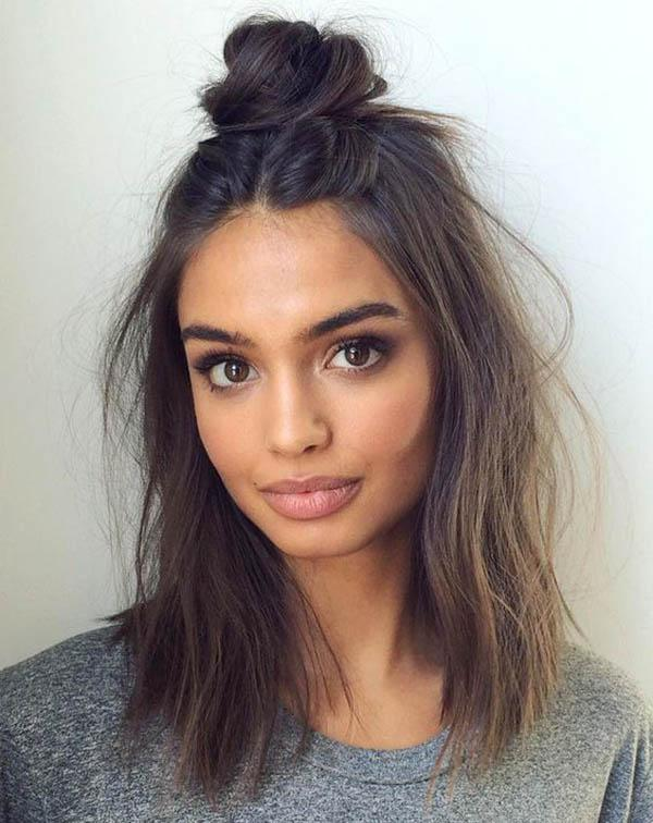 Medium hairstyles for women styling options