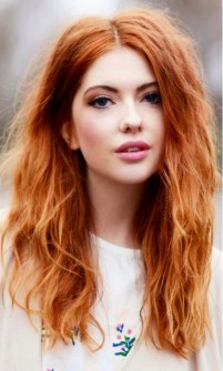 Natural red hair color shades, ginger hair colors