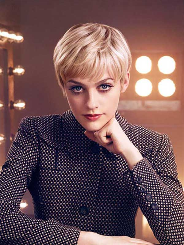 Hairstyles for fall, short haircuts with short bangs