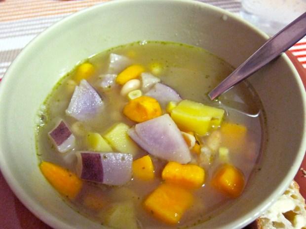 Recipe: Potato and White Bean Winter Soup   Red-Handled Scissors