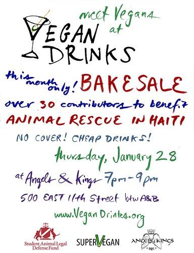 Vegan Bake Sales for Haiti