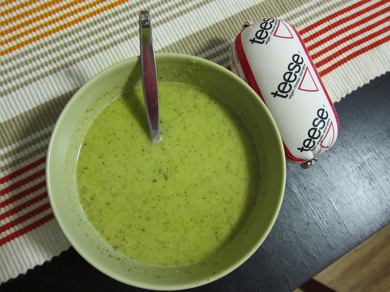 Vegan Broccoli and Teese Soup | Red-Handled Scissors