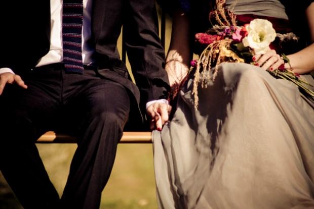Wedding Anniversary Week: Flowers Fresh from the Garden | Red-Handled Scissors