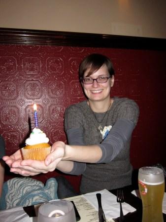 Sunday Snapshot: Melanie's Birthday Cupcakes | Red-Handled Scissors