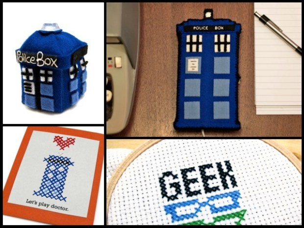 Big Geeky Announcement: I'm Writing a Geek Crafts Column for FaveCrafts!   Red-Handled Scissors