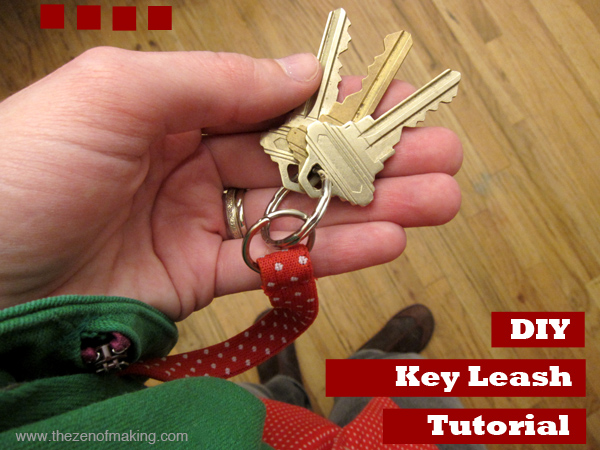 Video Tutorial: Add a Quick Key Leash to Your Favorite Bag | Red-Handled Scissors