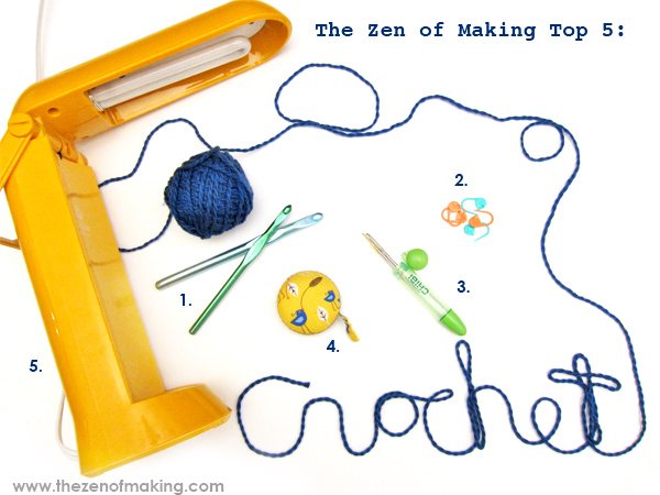 TZoM Top 5: Must-Have Crochet Tools | Red-Handled Scissors