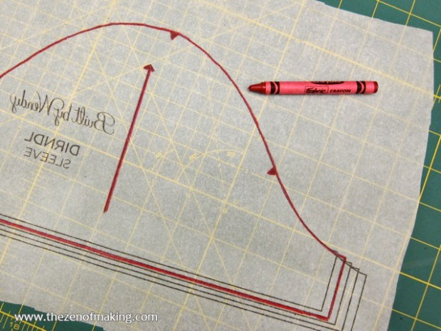 Craft Tip: Use Fabric Crayons to Transfer and Duplicate Patterns | Red-Handled Scissors