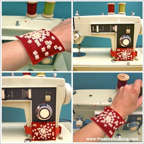 Tutorial: 2-in-1 Flower Pincushion | Red-Handled Scissors