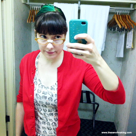 Sunday Snapshot: Goodbye Granny Glasses | Red-Handled Scissors