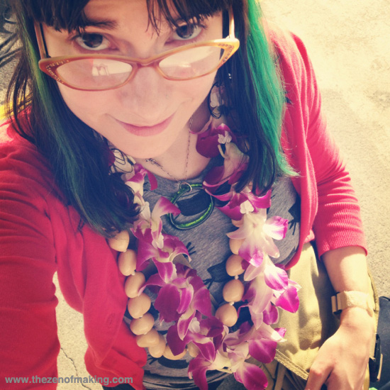 Getting Crafty in Hawaii | Red-Handled Scissors