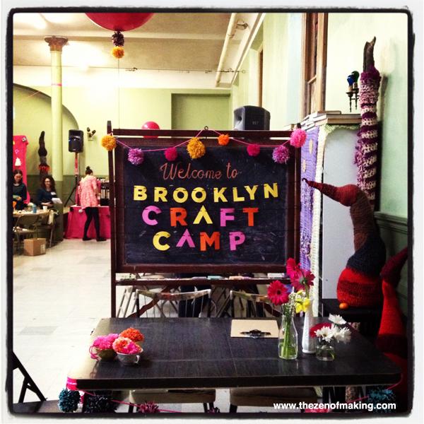 Sunday Snapshot: Brooklyn Craft Camp | Red-Handled Scissors