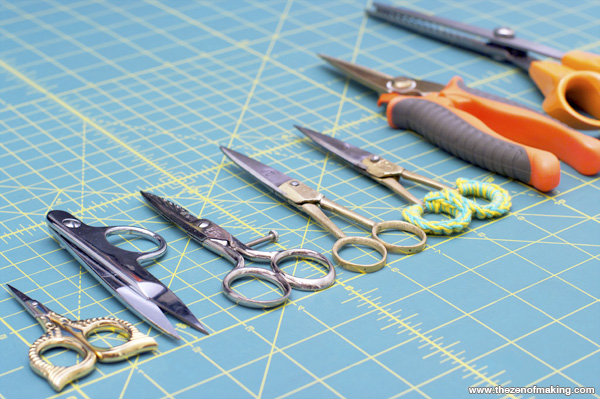 Sunday Snapshot: All of the Scissors | Red-Handled Scissors