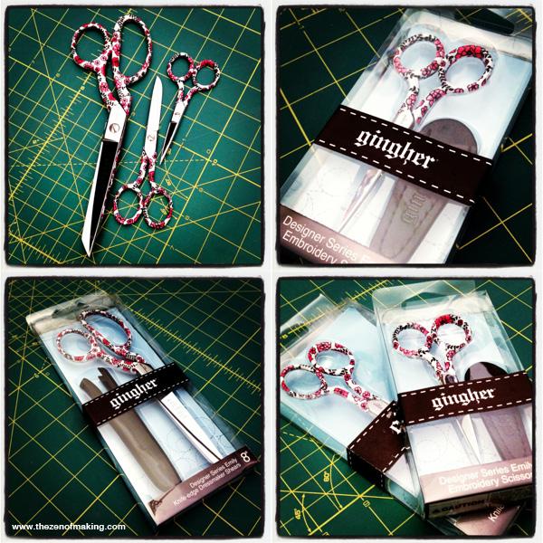 Friday Internet Crushes: Gingher Designer Series Scissors | Red-Handled Scissors