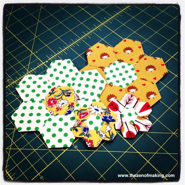 Sunday Snapshot: A Very Hexie Week | Red-Handled Scissors