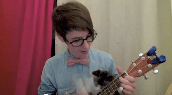 Friday Internet Crushes: Nerdy Love Song | Red-Handled Scissors