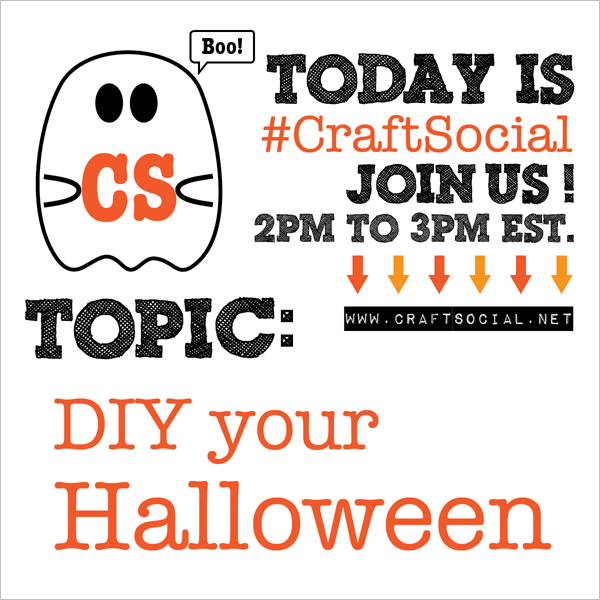 Today's Craft Social: DIY Your Halloween | Red-Handled Scissors