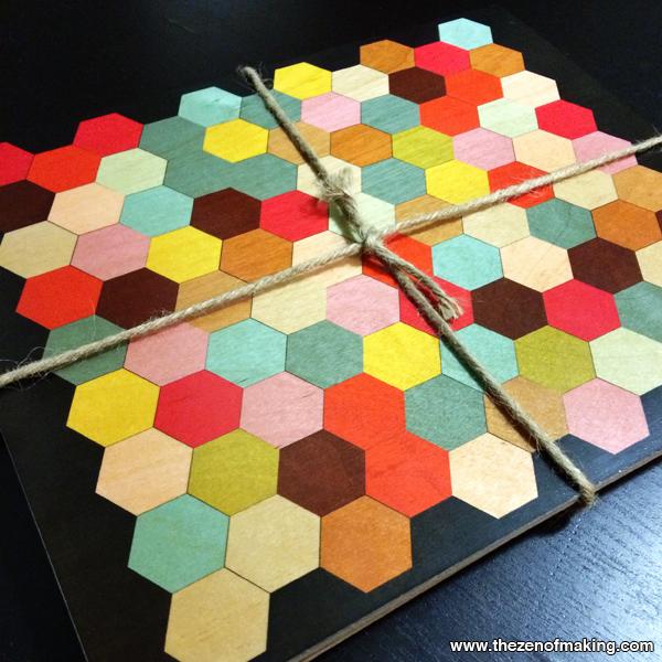 Sunday Snapshot: Wolfum Honeycomb Hexie Crush | Red-Handled Scissors