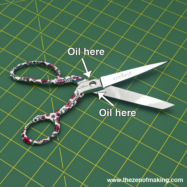 Crafting 101: How to Clean and Oil Your Scissors | Red-Handled Scissors