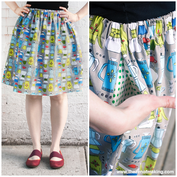 Tutorial Update: Plus Size Fit Guide for the Perfect Summer Skirt!   Red-Handled Scissors
