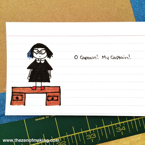 O Captain! My Captain! | Red-Handled Scissors