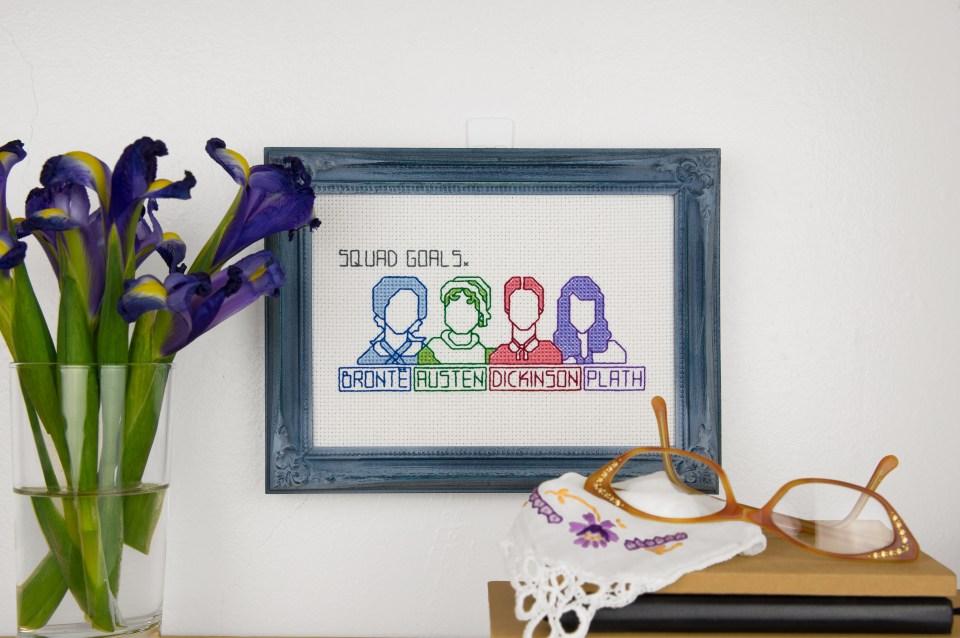 Squad Goals - Improper Cross-Stitch, by Haley Pierson-Cox