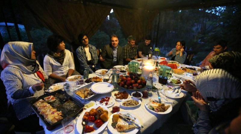 Family meal in Ramadan