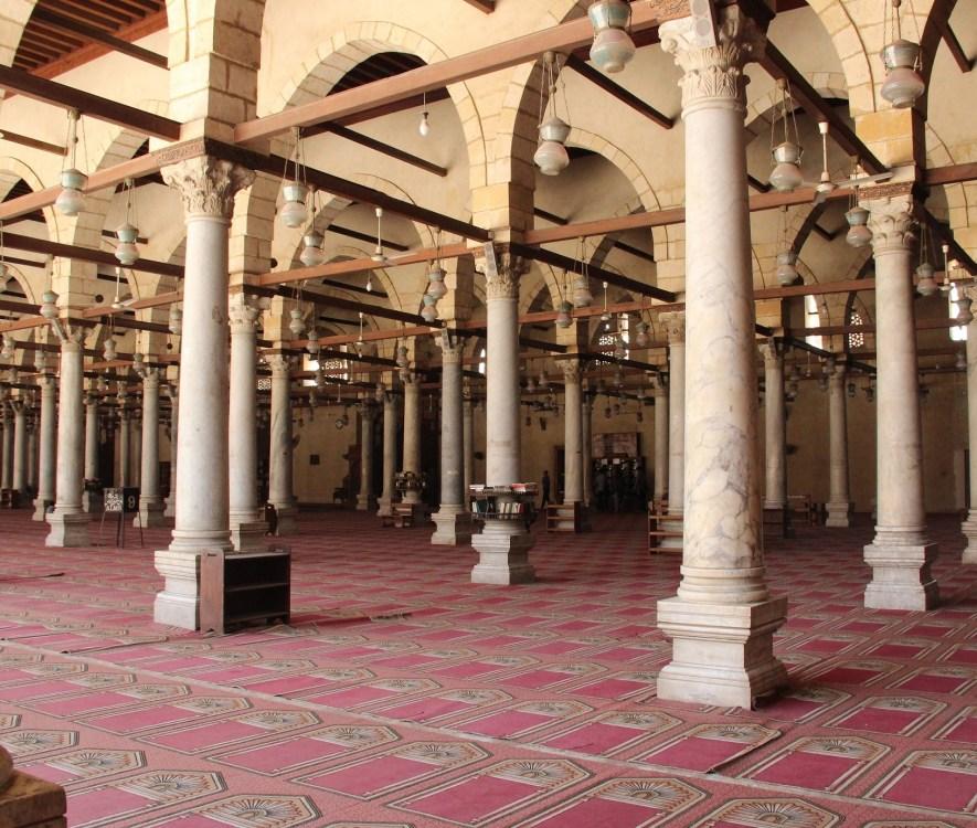 Masjid Amr Ibn Al As di Old Cairo