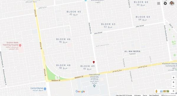 lokasi Chinese Restaurant, Ebed Khatim, Khartoum