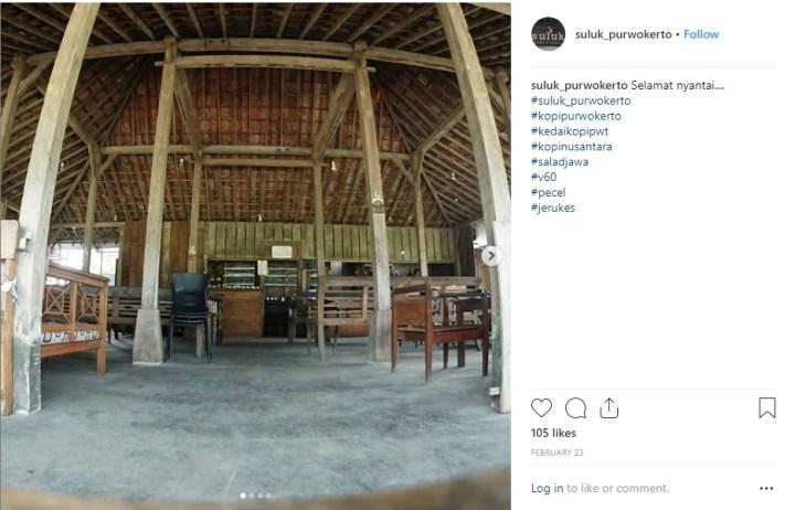 Interior Suluk Kopi Purwokerto