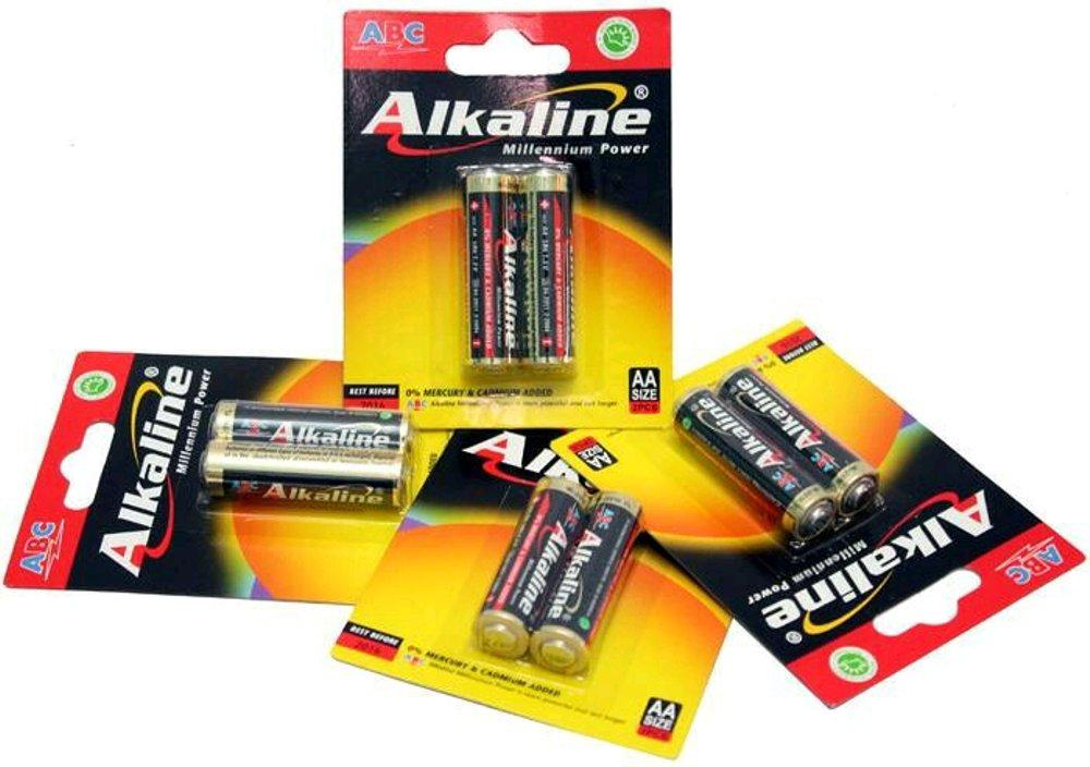 Bateria ABC Alkaline AA di Sudan