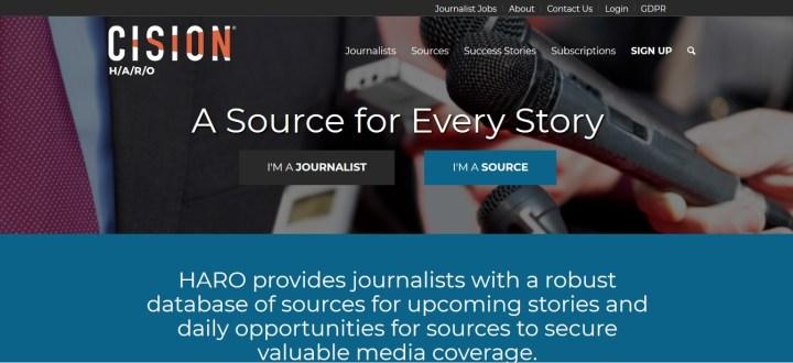 HARO-help a reporter