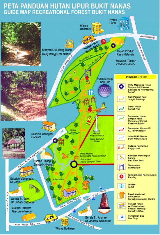 peta-panduan-kl-forest-eco-park-bukit-nanas