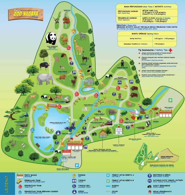 zoo-negara-malaysia-map