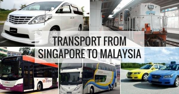 Transportasi dari Singapore ke Malaysia