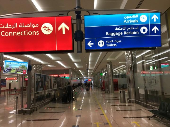 Pengalaman transit di Dubai