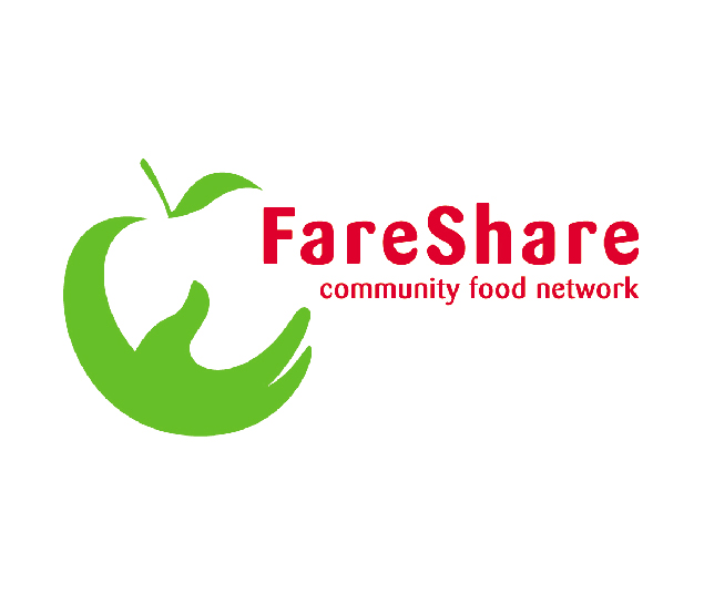 Image of the FareShare, community food network logo