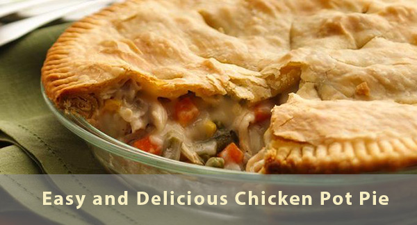 Easy And Delicious Homemade Chicken Pot Pie Redhot Writing Hood