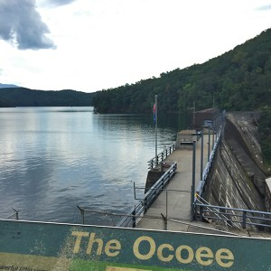 The Ocoee Blue Ridge Mountains