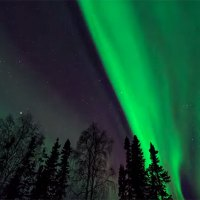 Time Lapse Alaskan Northern Lights