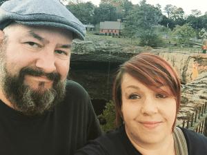 Noccalula Falls with Dan