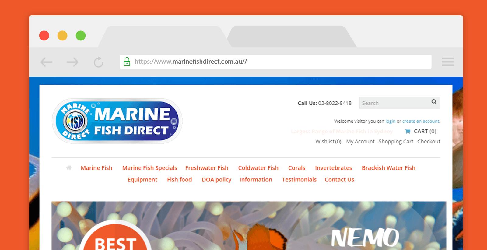 Opencart eCommerce website