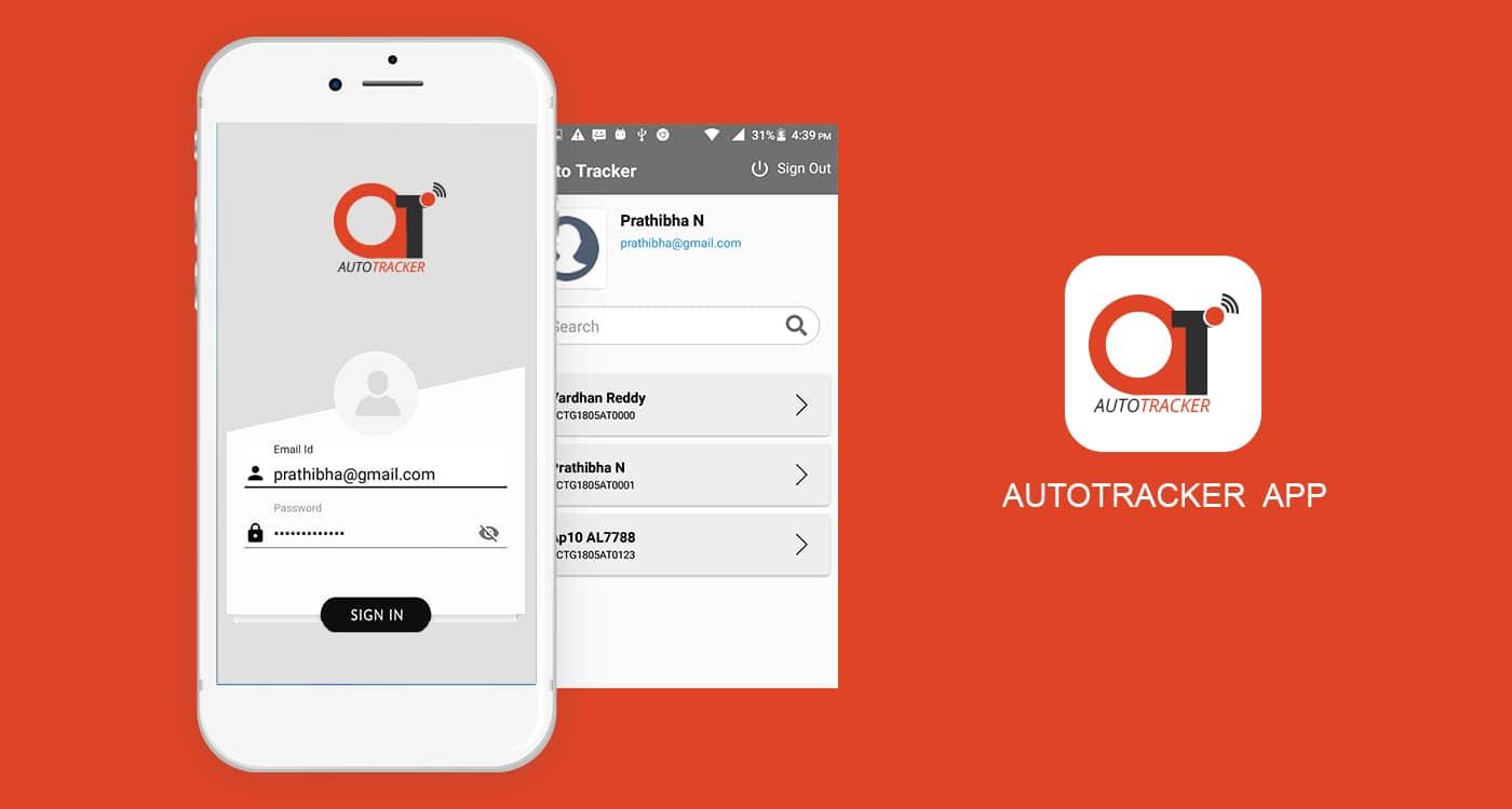 Auto Tracker Mobile App