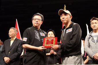 紅人堂行政總裁翁燦燐先生受邀成為富德國際搏擊聯盟理事長
