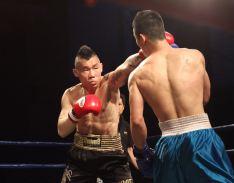 香港拳王李鑑任壓軸上演63公斤西洋拳決賽