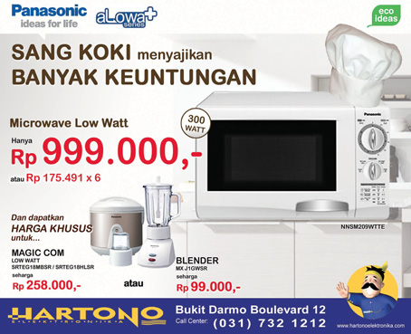 Jual Sharp Low Watt Microwaves - R-222Y (W) - Putih Online ...