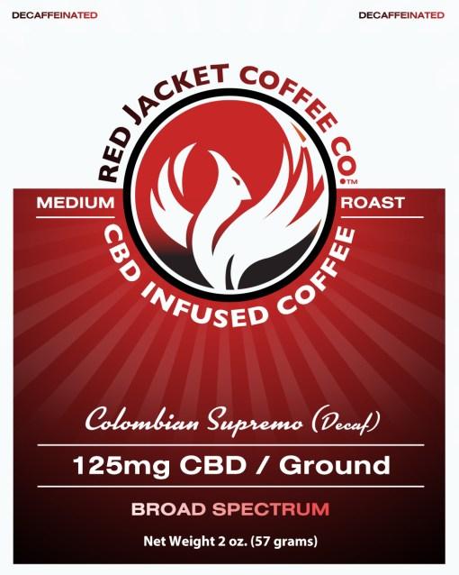 Colombian Supremo CBD Coffee (Decaf)