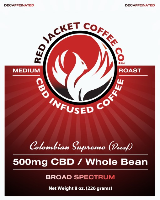 Colombian Supremo CBD Coffee (Decaf)